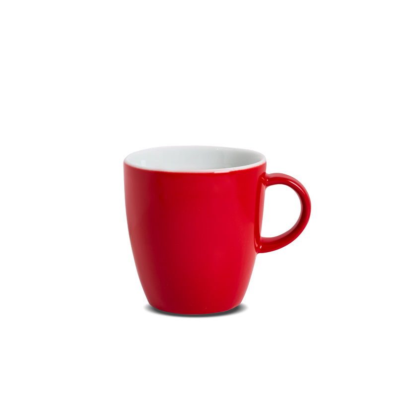 Porcelain Mug Red