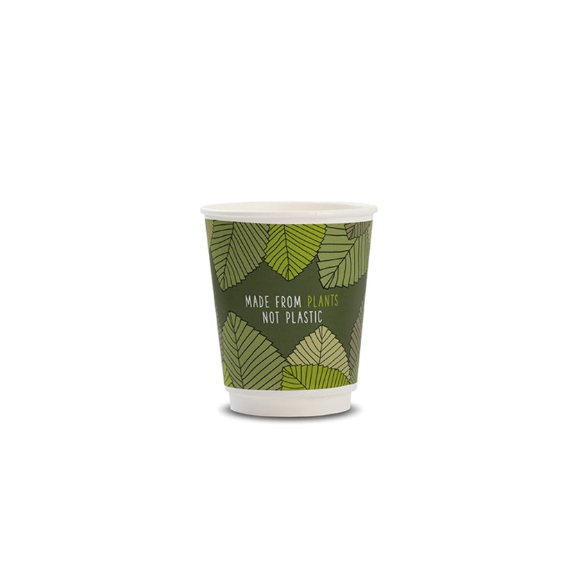 Vegware Double Wall Cups 8oz