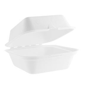 Vegware Takeaway Box - 6 inches  (500 pack)