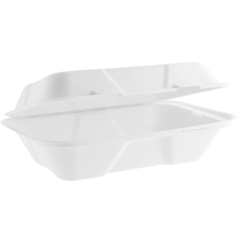 Vegware Takeaway Box - 9x6 inches (200 pack)
