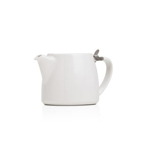 Forlife White Small Stump Teapot 13oz