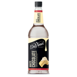 DaVinci White Chocolate Syrup 1Litre