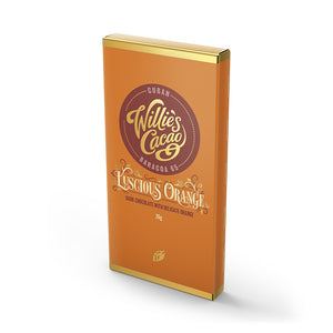 Willie's Cacao Luscious Orange (30 Bars)