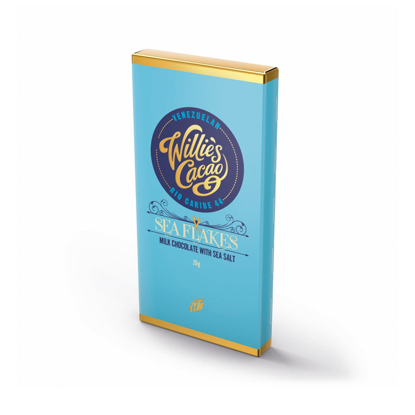 Willie's Cacao Sea Salt Chocolate Bar (30 Bars)