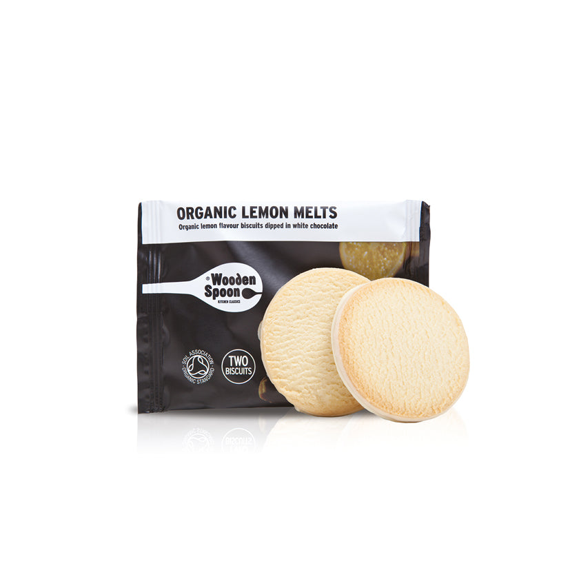 Wooden Spoon Organic Lemon Melts Twin Pack