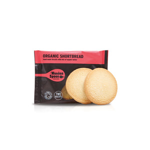 Wooden Spoon Organic Shortbread Twin pack