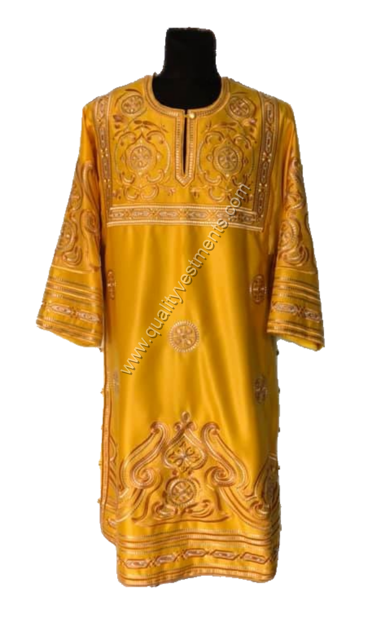 Gold Deacon's Embroidered vestments LIGHTWEIGHT TO ORDER