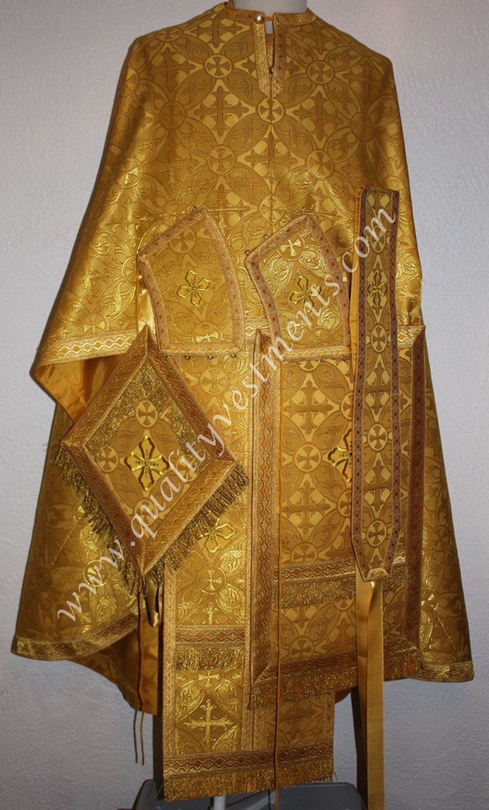 TO ORDER!! Priest Orthodox Vestment Greek Style Gold Brocade