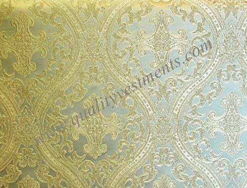Church Liturgical Vestment Brocade Material Fabric