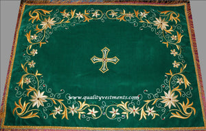 Chalice Covers Veils Orthodox Byzantine Embroidered Green Red White Gold etc