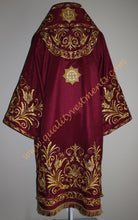 Orthodox Bishop's Vestments Embroidered Maroon Gold - Or Any Color TO ORDER!