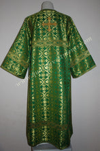 TO ORDER!!  Reader Acolyte Altar Server Robe Green Gold Metallic Brocade