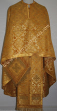 Greek Orthodox Priest Vestment Metallic Brocade  Gold or any color