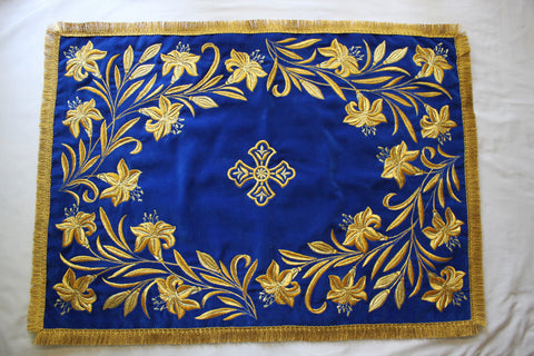 Chalice Covers Veils Orthodox Byzantine Embroidered Blue Red Gold Green etc