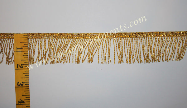 "Church Liturgical Vestment Fringe Gold 1 1/2""  (4.4cm)  Quality Fringe!!!!"
