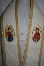 Orthodox Bishop's Small Wool Omophor Omophorion Annunciation