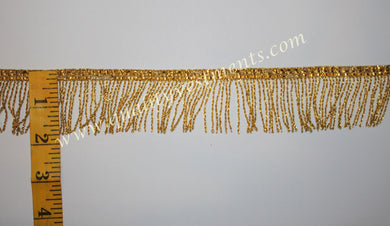 Church Liturgical Vestment Fringe Gold 1 1/2