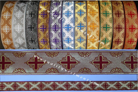 "Church religious  trim  galloon  ""Shell""  5/8""  1.7 cm width many colors"