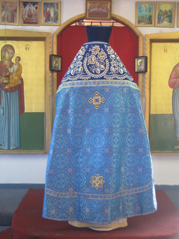 Priest vestments  Russian style Embroidered Blue or ANY color