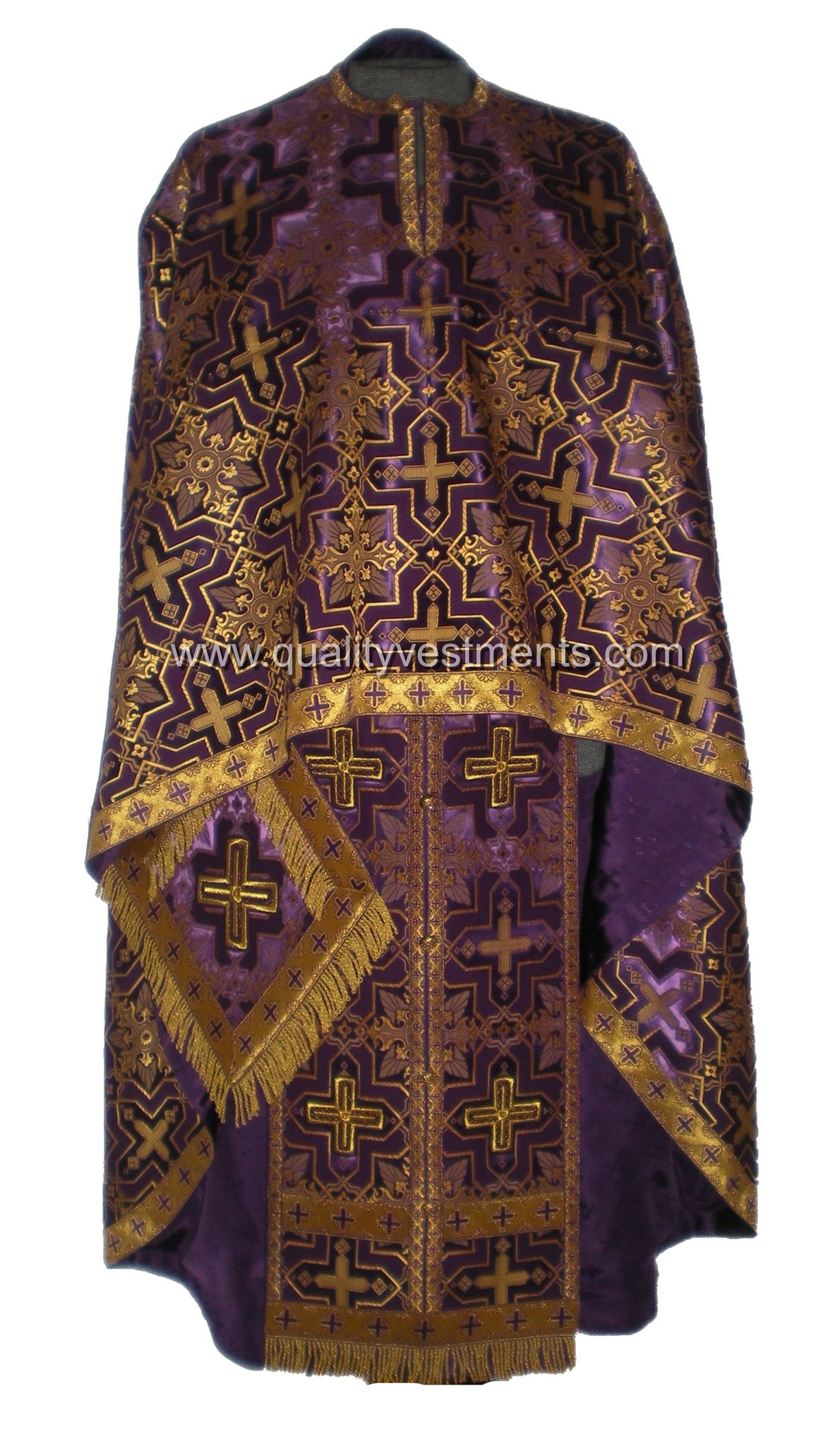 Purple Priest Vestments Greek Style Nonmetallic brocade TO ORDER!
