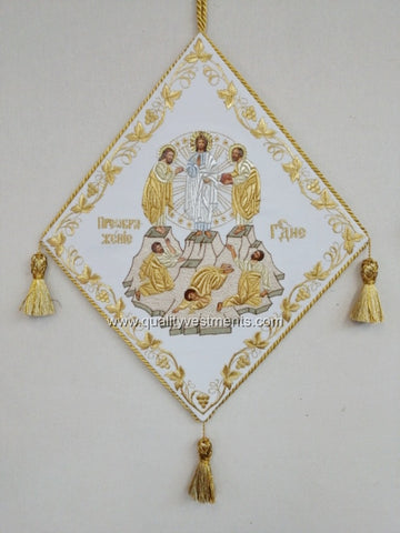 Transfiguration Palitsa Epigonation Embroidered gold or silver ready to ship from USA