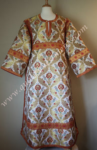 Red Deacon's Vestments Floral Rose pattern TO ORDER!