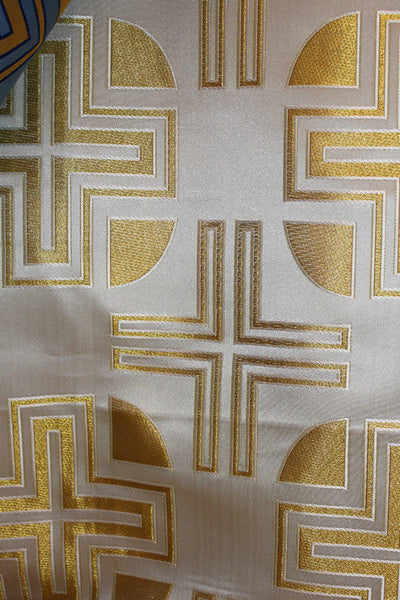 Church Liturgical Vestment Ecclesiastical Clerical Brocade Material