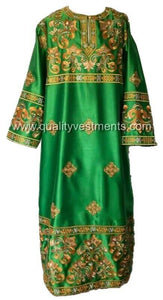 Green Deacon's vestments Embroidered LIGHTWEIGHT or any other color TO ORDER