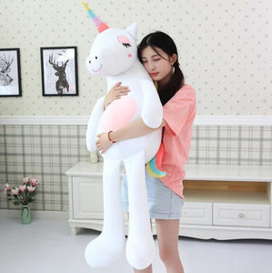 fba9e65b1a2 Huge Unicorn Plush Toys Giant Stuffed Animal Soft Unicorn doll Baby licorne  Dolls Kawaii gifts