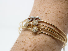 Load image into Gallery viewer, Stackable Diamond Bangle