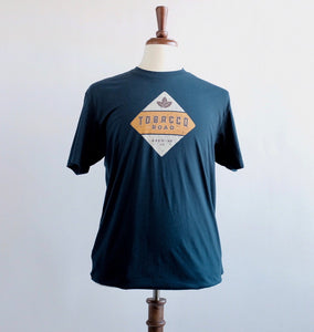 Tobacco Road Brewing Navy Short Sleeve Cotton T-Shirt