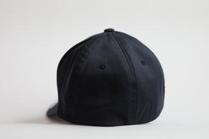 Dark Navy Flexfit Logo Cap