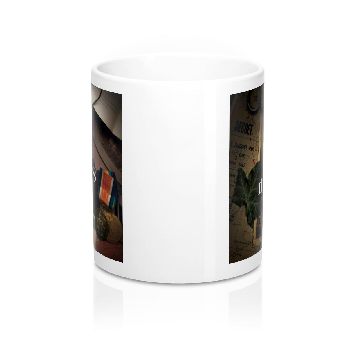 Map Of  The Past Design Mug