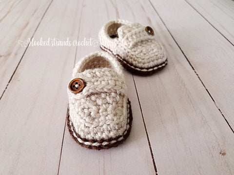 91957f24a6bdf Baby shoes – Hooked strands crochet