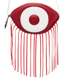 """LE INAYA MINI"" SAC A MAIN EN CUIIR  ROUGE POMPEIEN""_  #SACAMAINOEIL #SACOEIL"