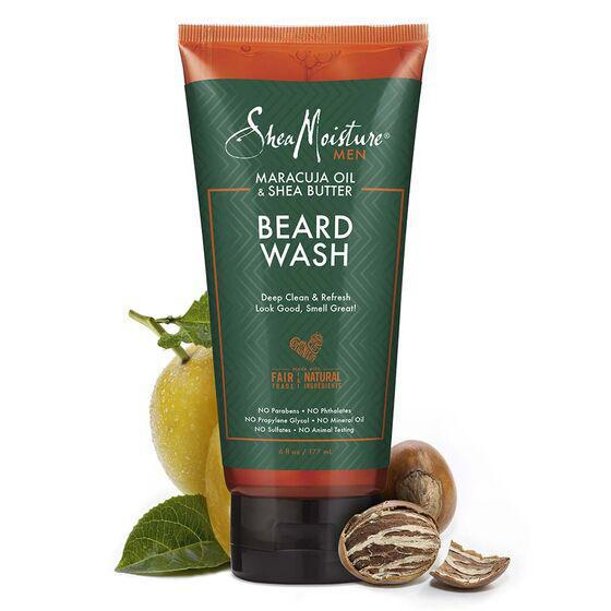 Shea Moisture Men Beard Wash 6oz