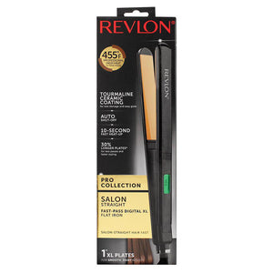"Revlon Straightening & Curling Ceramic Flat Iron, 1"" Extra Long"
