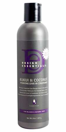 Design Essentials KuiKui & Coconut Leave-in Conditioner 8oz