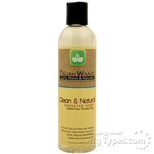 Taliah Waajid Clean & Natural Herbal  Hair Wash 8FL OZ.