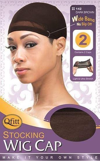 Qfitt Wig Cap - Dark Brown