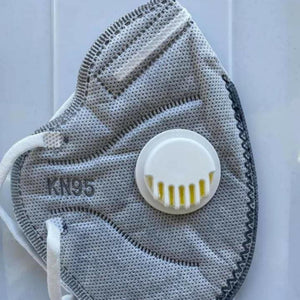 KN95 Mask - Grey with filter