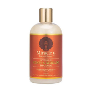 Miracle 9 Honey & Avocado Shampoo 12oz