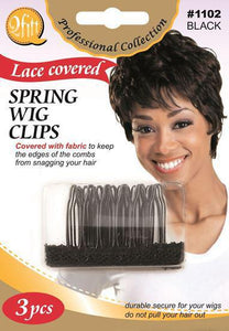 Spring Wig Clips