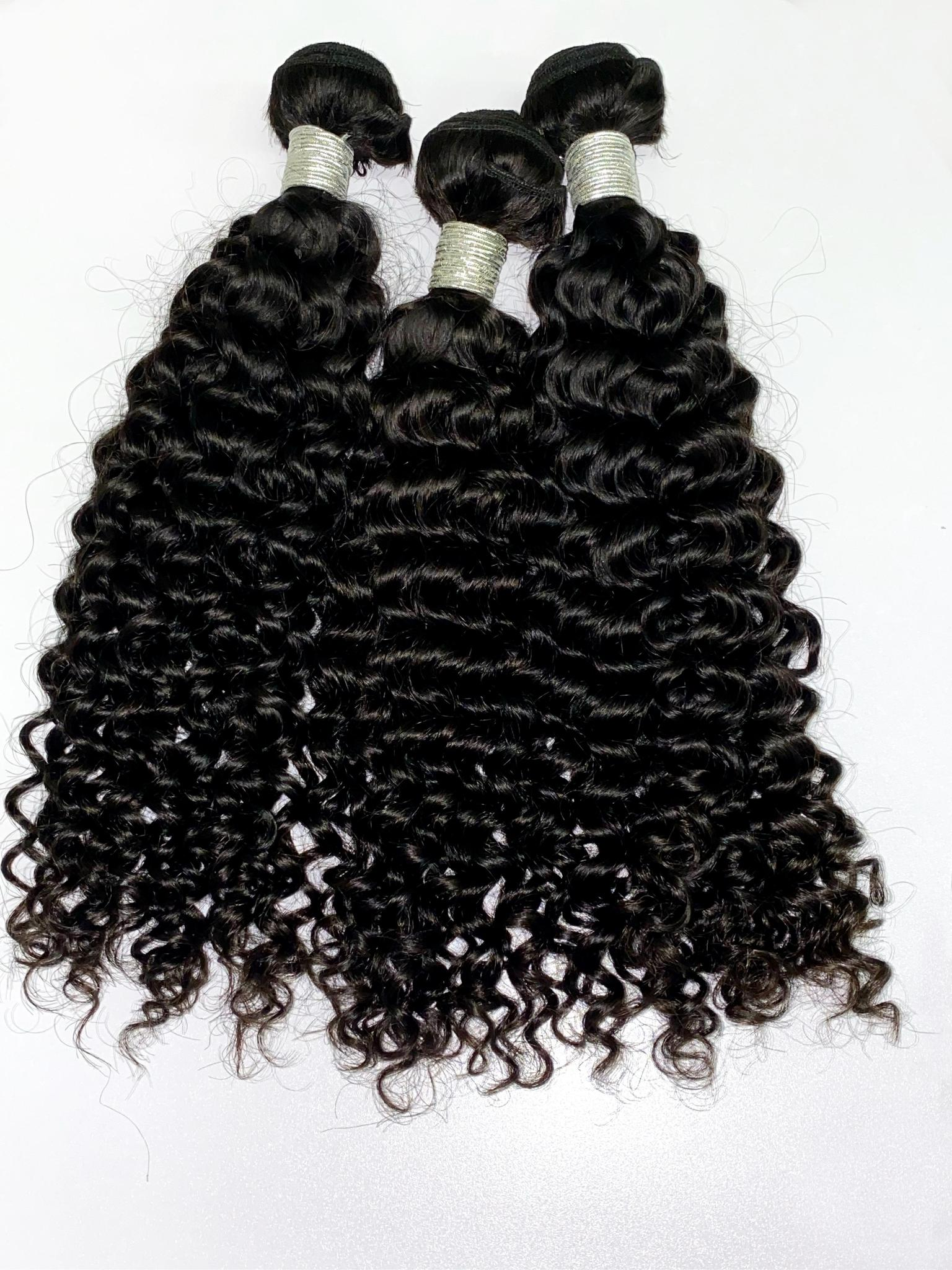 Curly 100% Virgin Human Hair
