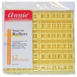 Annie Magnetic Rollers 12ea Medium