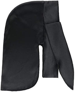 The True Styles Silk Durag Blk