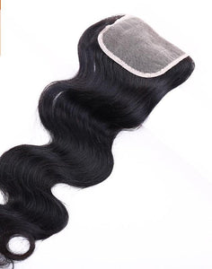 "Closure 12"" 100% Virgin Remy"