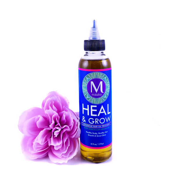 Makeba Heal & Grow Hair Oil - Argan 6oz