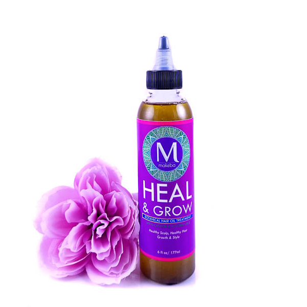 Makeba Heal & Grow Hair Oil - Original 6oz