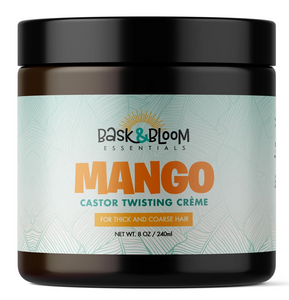 Bask & Bloom Mango Castor Twisting Creme 8oz